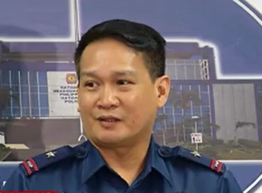 Philippine National Police spokesperson, Chief Supt. Dionardo Carlos, holds a press briefing about the situation in containing the local terror group Maute whose members were seen in Marawi City.  (Eagle News Service)
