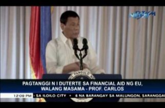 President Duterte can refuse EU aid – political analyst