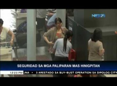 Security tightened in various airports after Marawi siege