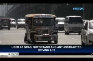 Uber and Grab support Anti-Distracted Driving Act