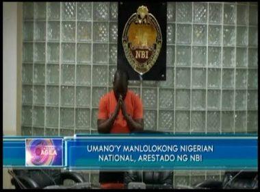 Umano'y manlolokong Nigerian national, arestado ng NBI
