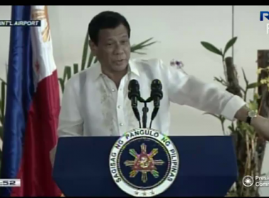 President Duterte shows off Philippine watch in trip to Russia, asks gov't employees to promote and wear local products