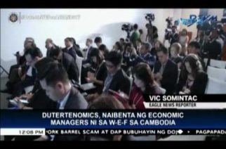 World Economic Forum delegates welcome Dutertenomics