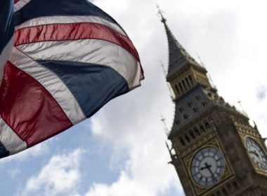 A Union flag lies from a flagpole opposite the Elizabeth Tower, commonly reffered to as Big Ben, at the Houses of Parliament in central London on June 7, 2017. Britain on Wednesday headed into the final day of campaigning for a general election darkened and dominated by jihadist attacks in two cities, leaving forecasters struggling to predict an outcome on polling day. / AFP PHOTO / Justin TALLIS