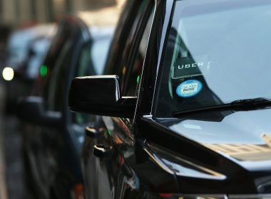 (FILES) This file photo taken on June 13, 2017 shows an Uber SUV waiting for a client in Manhattan  in New York City.  Uber said June 21, 2017 that its embattled chief executive Travis Kalanick had agreed to step down from his job, as the company tries to clean up a corporate culture that has sparked charges of harassment and discrimination. Kalanick had already been on a leave of absence aimed at restoring confidence in the scandal-plagued ridesharing giant.  / AFP PHOTO / GETTY IMAGES NORTH AMERICA / SPENCER PLATT