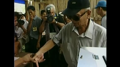 Photo grabbed from Reuters video file.