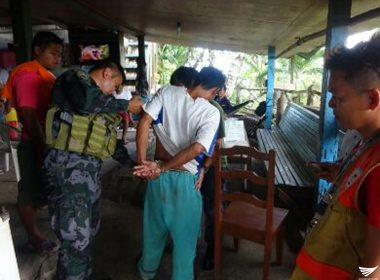 Isang lalake, arestado sa isinagawang buy-bust operation ng Tagbina-PNP