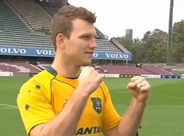 Australian boxer Jeff Horn said on Tuesday (June 20) he was in the final stages of preparation for the upcoming world welterweight title fight in Brisbane against Manny Pacquiao, billed by local media to be the highest profile match ever held on Australian soil.(photo grabbed from Reuters video)