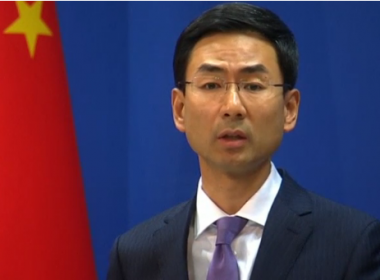 China reiterated their opposition to any violation of U.N. Security Council resolutions and urged all parties to exercise restraint on Friday (June 23), a day after North Korea carried out another test of a rocket engine.(photo grabbed from Reuters video)