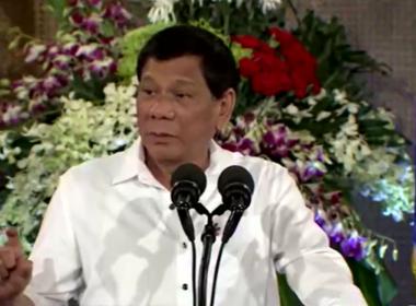 President Rodrigo Duterte lead the celebration of the Eid'l Fitr at the Rizal Hall in Malacañan Palace on June 27, 2017.  ({Eagle News Service)