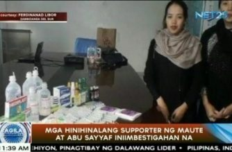 Eagle News, Maute at Abu sayyaf Supporters