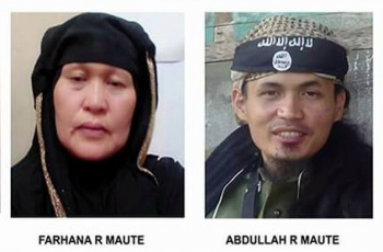 The Maute family. Photos c/o Cebu City Police Office