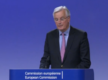 The United Kingdom and the European Union have taken the first step towards starting the formal negotiations over the UK's breakaway from the EU, chief negotiators from both sides announced on Monday. Photo grabbed from Reuters video file.