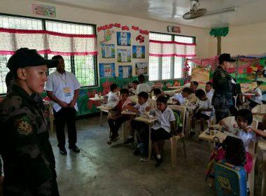 Pagbubukas ng klase sa Davao naging matiwasay; inspeksyon sa mga checkpoint mahigpit pa ring ipinatutupad