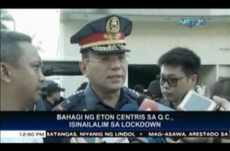 Business operation in Eton Centris, back to normal after guard surrenders