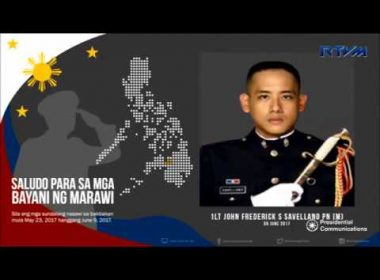 Country honors Marawi heroes as tribute played nationwide, flags flown on half-mast