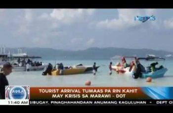 DOT: Tourist arrivals still rising despite Marawi crisis