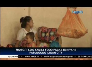 DSWD sends 8,400 food packs to Iligan City for Marawi attack victims
