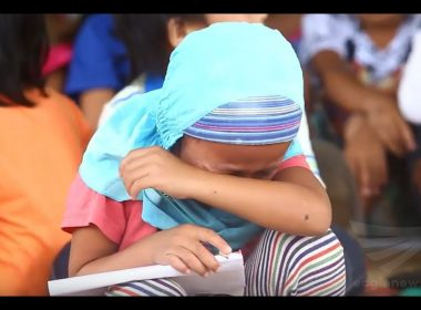 Featured video:  Displaced Marawi children draw their tragic experience in war-torn city
