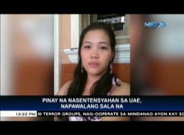 Filipina in UAE saved from death row