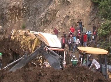 Guatemala mudslide kills 11: officials