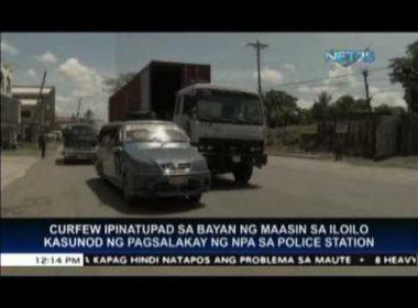 Maasin, Leyte mayor implements curfew after NPA attack