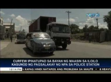 Maasin, Iloilo mayor implements curfew after NPA attack