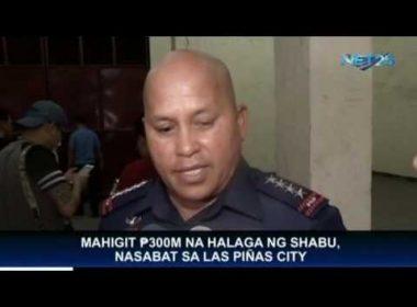 Mahigit PHP 300-M na halaga ng shabu, nasabat sa Las Piñas City