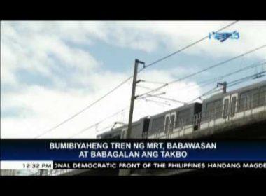 MRT-3 to resume regular operations on Friday morning