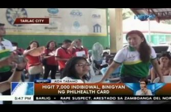 PhilHealth Card ipinamahagi sa mahigit 7,000 indibidwal; 700 katao pinagkalooban ng hearing aid