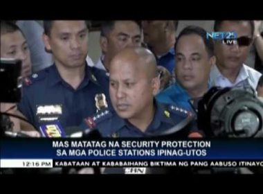 PNP Chief orders tighter security of police stations after rebel attacks