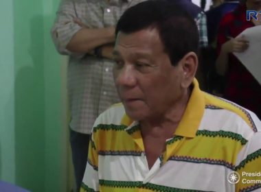 President Duterte visits 36 wounded-in-action soldiers confined at the Camp Evangelista Station Hospital