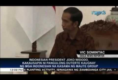 President Duterte, Widodo to discuss security issues, involvement of Indonesian terrorists in Marawi conflict