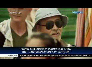 """Revive """"Wow Philippines"""" tourism campaign – Sen. Gordon"""