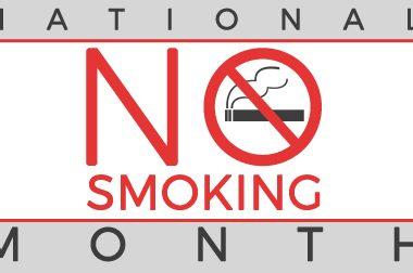 National No Smoking Month