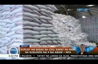 Supply ng bigas sa Cagayan de Oro, sapat pa para sa susunod na 9 na araw – NFA