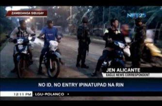 """Zamboanga City strictly implements """"No ID, no entry policy"""""""