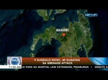 9 sundalo patay, 49 sugatan sa grenade attack