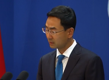 China's Foreign Ministry spokesperson Geng Shuang