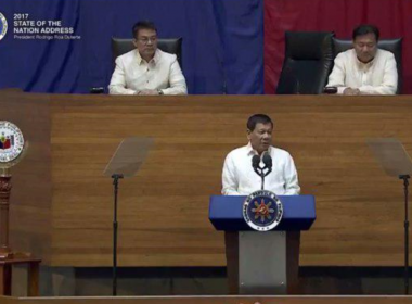 "President Duterte renews gov't resolve in fight vs drugs; says fight will be ""unrelenting"""