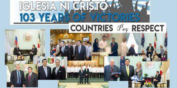Iglesia Ni Cristo: 103 years of victory – Foreign dignitaries' courtesy call to INC Central Office