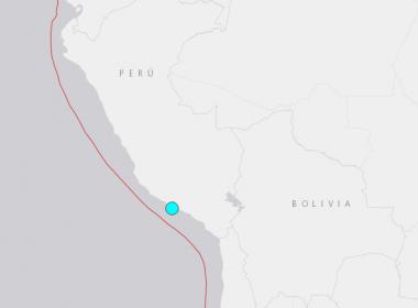 6.4-magnitude earthquake hits Peru: USGS