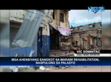 Agencies involved in Marawi City rehabilitation hold meeting in Malacañang