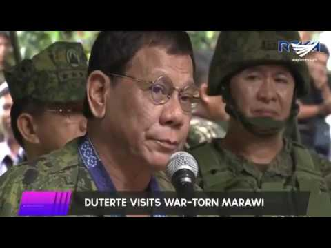 Featured video:  President Duterte becomes emotional as he speaks to soldiers in Marawi