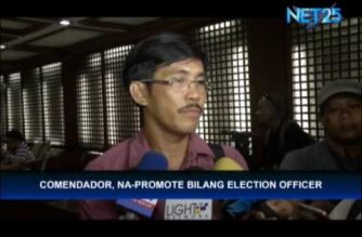 Former COMELEC janitor who passed the bar, now an election officer