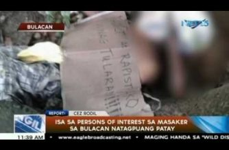Police now probing killings of 3 persons of interest in Bulacan massacre