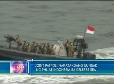 Joint patrol, nakatakdang ilunsad ng PHL at Indonesia sa Celebes Sea
