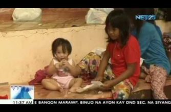 Mga buntis at bata, mahigpit na minomonitor ng DOH sa mga evacuation center sa Iligan City