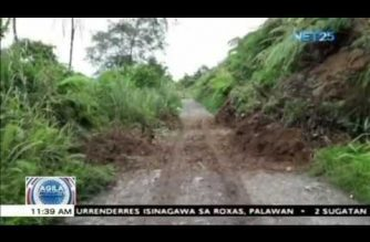 Mga residente na malapit sa pinangyarihan ng landslide sa Leyte, pinalilikas na