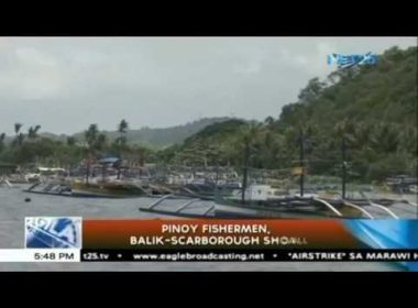 Filipino fishermen balik-Scarborough Shoal na